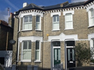 Just off Northcote Road this is a stunning 5 bedroom home